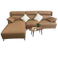 Sofa Góc Giả Da Cao Cấp Phong Cách Châu Âu KG19014