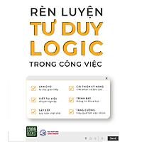 Sách RÈN LUYỆN TƯ DUY LOGIC TRONG CÔNG VIỆC