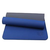 Thảm Yoga 2 Lớp Cao Cấp Sportslink TPE Zera Mat ZERA-6MM-2L-COBAN - Xanh Coban (6mm)