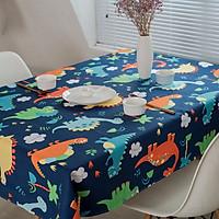 Khăn trải bàn - Khủng long xanh -KTB0030