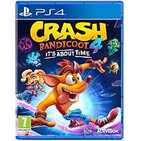 Đĩa Game Ps4&Ps5 Crash Bandicoot 4: It's About Time - Hàng Nhập Khẩu