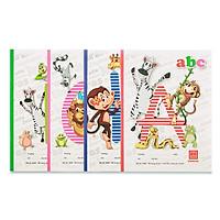 Vở 5 ô ly 96 trang Class ABC 0402 (10 quyển) - Giao màu ngẫu nhiên
