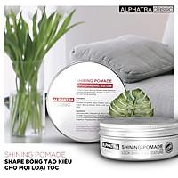 Shape bóng tạo kiểu cho mọi loại tóc - Shining Pomade - Alphatra Classic
