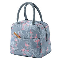 Túi giữ nhiệt đựng hộp cơm chống nước có quai xách tiện dụng - Giao màu ngẫu nhiên