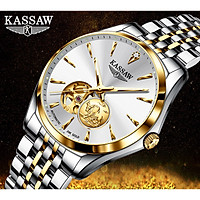 Đồng hồ nam chính hãng KASSAW K222-1 (Mạ vàng 24k)