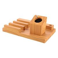 Dock Đế Sạc Gỗ Kèm Giá Đỡ Đa Năng Aturos N3WP4 – Hàng Nhập Khẩu