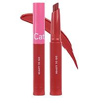 Son kem má hồng mini Cathy Doll Beauty To Go Lip & Cheek Creamy Matte 0.6g