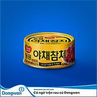 Cá ngừ trộn rau củ Dongwon