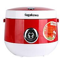 Nồi cơm điện nắp gài 1.8L Nagakawa NAG0101 - Hàng nhập khẩu