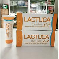 [COMBO 2 HỘP] Kem bôi thảo dược chăm sóc miệng LACTUCA làm dịu các tổn thương răng,lợi, niêm mạc, bảo vệ răng miệng, ngăn ngừa sự phát triển của vi khuẩn - tuýp 10g, hàng chính hãng