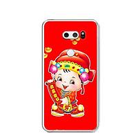 Ốp lưng dẻo cho điện thoại LG V30 - 0476 THANTAI05 - Hàng Chính Hãng