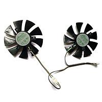 NEW 2PCS 85MM GA91S2H 4PIN DC 12V 0.35A GTX1060 GPU Fan For GeForce GTX 1060 AMP Edition GTX 1070 Mini Graphics Card Fans