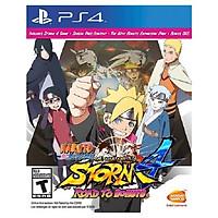Đĩa Game Ps4: Naruto Ultimate Ninja Storm 4 Road to Boruto  - Hàng nhập khẩu