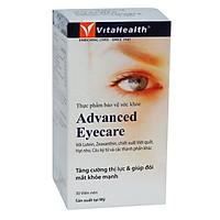 Thực Phẩm Chức Năng Viên Uống Bổ Mắt Advanced Eyecare 30 Viên - Vita Health