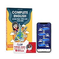 Combo sách Complete English - Khóa học giao tiếp thực tế - Tặng App học thông minh luyện tập phát âm, giao tiếp trực tuyến