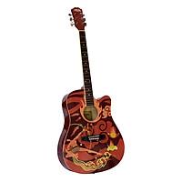 Đàn Guitar Acoustic Caravan Music HS4052RD
