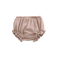 Spring Summer New Infant Baby Girls Cotton Panties 6 Colors Cute Solid Color Comfortable Lacy High Quality Breathable Underpants
