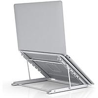Giá Đỡ Laptop - Đế Tản Nhiệt Cho Máy Tính Bảng MacBook Ipad - Hợp Kim Nhôm Cao Cấp - Có Thể Gấp Gọn - Dễ Dàng Di Chuyển - Hàng Chính Hãng - VinBuy