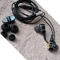 Tai nghe nhét tai có Mic lỗi kép M5 - kèm 4 mút tai nghe và kẹp áo
