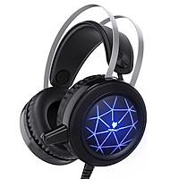 Tai Nghe Gaming NubWo N1 Âm Thanh Giả Lập 7.1 Đèn Led RGB Có Mic Công nghệ đèn led tiên tiến bên trong tai nghe - Hàng Nhập Khẩu