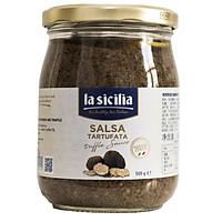 Sốt nấm cục – Truffle Sauce La Sicilia (Italia) hũ 500g