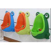 Bô vệ sinh cho bé trai hình con ếch ngộ...