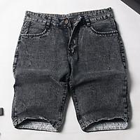 Quần short jeans nam vải dày mềm size 50-70kg