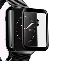 Kính cường lực cho Apple Watch Series 1.2.3.4_Chống nước_Viền dẻo
