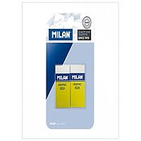 Milan Vỉ 2 Gôm Plastic 6024 Bpm9243