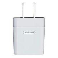 Adapter Sạc 1 USB 2.1A Remax RP-U110/Ry-U03 (1m) - Hàng Chính Hãng