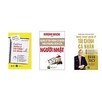 Combo 3 cuốn: Lập kế hoạch quản lý tài chính cá nhân, Nghệ thuật quản lý tài chính cá nhân và Quản lý tài chính cá nhân theo phong cách người Nhật