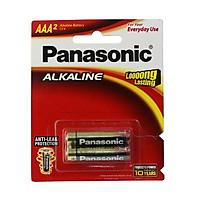 Bộ 2 pin AAA Panasonic 1,5V - Hàng chính hãng