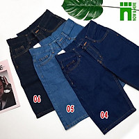 Quần short jean nam có SIZE ĐẠI từ 45kg đến 100kg - quần ngố nam bigsize - NH Shop