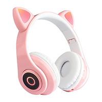 Tai Nghe Mèo Bluetooth, Có Mic,Âm Bass Mạnh Mẽ Và Dung Lượng Pin Khủng 400mAh