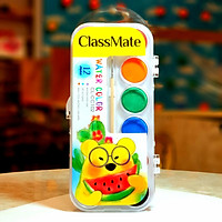Hộp màu nước 12 màu Water color ClassMate CL - CC102