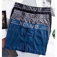 Combo 5 Quần Lót Nam Boxer Nhật Bản MUNAFIE - TẶNG KÈM TÚI ZIP