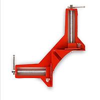 Bộ 2 Ê tô ke góc vuông, kẹp góc vuông mini ke vuông chính xác (đỏ) chuyên kẹp gỗ, kim loại, nhựa, vật liệu mỏng một cách chính xác