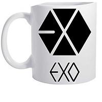 Cốc ly sứ chịu nhiêjt in logo nhóm nhạc EXO
