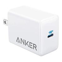Adapter Sạc Anker 1 cổng 65W Hỗ Trợ Sạc Nhanh PIQ 3.0 PowerPort III Pod Lite - A2718 - Hàng chính hãng