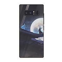 Ốp điện thoại kính cường lực cho máy Samsung Galaxy Note 9 - Trước trận chiến MS ABSDANH009