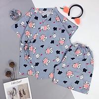 Mẫu mới về Bộ đồ ngủ quần cộc áo cộc yukata bộ đồ ngủ KIMONO siêu hot hit