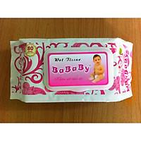 Khăn ướt Bababy 80 tờ