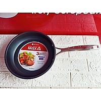 Chảo Inox chống dính 3 đáy Max A EL3763 size 26cm