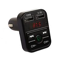 Bộ Thu Bluetooth Tích Hợp Máy Nghe Nhạc Mp3 Kèm 2 Cổng USB Cho Ô Tô
