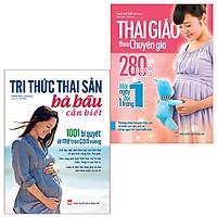 Sách: Combo Tri Thức Thai Sản Bà Bầu Cần Biết + Thai Giáo Theo Chuyên Gia