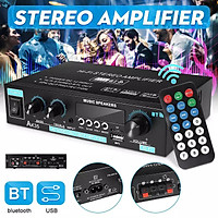 Audio Digital Stereo bluetooth Amplifier HIFI Car Home USB MP3 Player AMP Remote