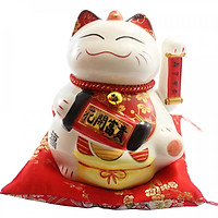 Mèo nhật bản vẫy tay-Hoa khai phú quý SW357-19cm