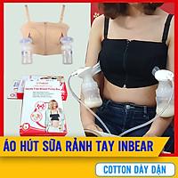 [ĐÓNG HỘP] Áo Hút Sữa Rảnh Tay Có Dây  Cao Cấp INBEAR Cho Mẹ (Freesize) Vải Cotton Mềm Mại, Dày Dặn, Thoáng Mát