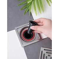 Phụ kiện Ngăn mùi nhà tắm - Hết mùi ngay khi lắp - lắp thoát sàn chống mùi hôi ngăn vi khuẩn trào ngược lên - Giao màu ngẫu nhiên - MH311