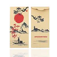Set Bao Lì Xì Tết 2019 Thuận Buồm Xuôi Gió (100 cái)